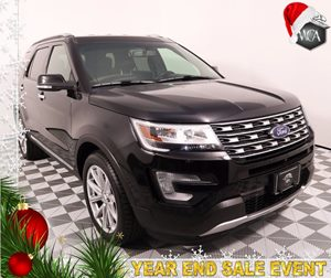 2016 Ford Explorer Limited Carfax 1-Owner - No AccidentsDamage Reported Audio Hd Radio Audio
