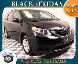 2015 Toyota Sienna LE 7-Passenger Auto Carfax 1-Owner - No AccidentsDamage Reported Air Bag - Fr