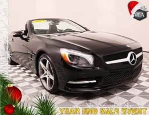 2013 MERCEDES SL 550 SL 550 Carfax 1-Owner - No AccidentsDamage Reported 19 Twin 5-Spoke Alumi