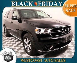 2016 Dodge Durango Limited Carfax 1-Owner - No AccidentsDamage Reported 2Nd Row Console WArmres