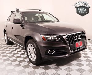 2014 Audi Q5 20T quattro Premium Carfax 1-Owner - No AccidentsDamage Reported Deep Tinted 2-Pan