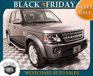 2014 Land Rover LR4 HSE LUX Carfax 1-Owner - No AccidentsDamage Reported Black Lacquer Finish Tr
