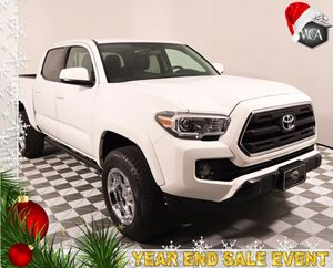2016 Toyota Tacoma SR Carfax 1-Owner - No AccidentsDamage Reported  Super White Built to deli