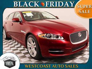 2014 Jaguar XJL Portfolio Carfax 1-Owner - No AccidentsDamage Reported  Rear Window Sunblind Ad
