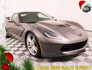 2015 Chevrolet Corvette Stingray Z51 Carfax 1-Owner - No AccidentsDamage Reported Body-Color Dua