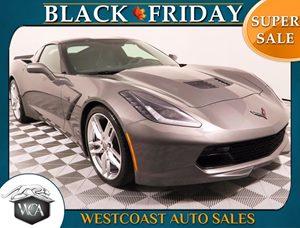 2015 Chevrolet Corvette Stingray Z51 Carfax 1-Owner - No AccidentsDamage Reported Body-Color Dua