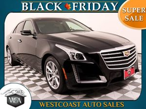 2017 Cadillac CTS Sedan 20T Luxury Carfax 1-Owner - No AccidentsDamage Reported  Black Raven
