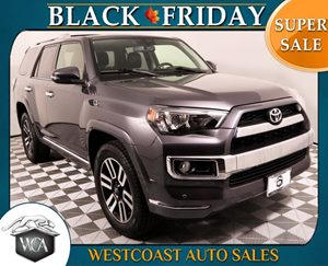 2015 Toyota 4Runner Limited Carfax 1-Owner - No AccidentsDamage Reported  Magnetic Gray Metall
