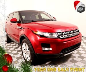 2014 Land Rover Range Rover Evoque Pure Plus Carfax 1-Owner - No AccidentsDamage Reported Black