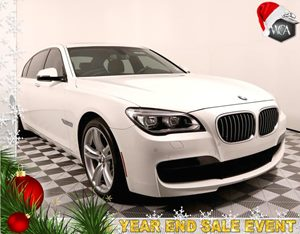 2013 BMW 7 Series 740Li Carfax 1-Owner - No AccidentsDamage Reported 20 X 85 Front  20 X