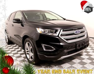 2017 Ford Edge Titanium Carfax 1-Owner - No AccidentsDamage Reported Daytime Running Lamps Non-