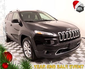 2016 Jeep Cherokee Limited Carfax 1-Owner - No AccidentsDamage Reported  Brilliant Black Cryst
