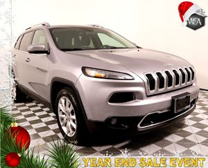2017 Jeep Cherokee Limited Carfax 1-Owner - No AccidentsDamage Reported Air Bag - Frontal Drive