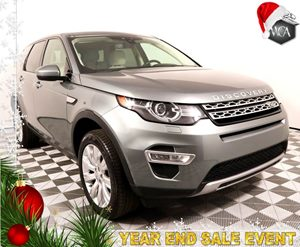 2016 Land Rover Discovery Sport HSE LUX Carfax 1-Owner - No AccidentsDamage Reported Adaptive Xe