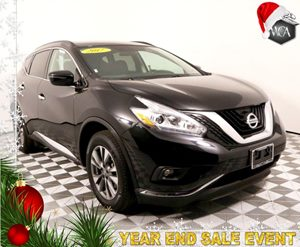 2017 Nissan Murano S Carfax 1-Owner - No AccidentsDamage Reported  Magnetic Black Metallic  S