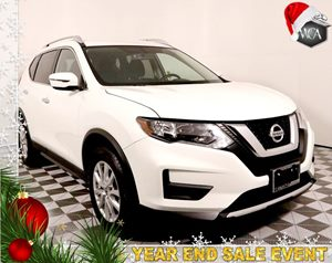 2017 Nissan Rogue S Carfax 1-Owner - No AccidentsDamage Reported  Glacier White  Save Thousan