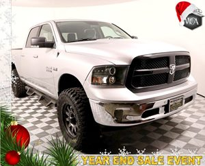 2017 Ram 1500 Big Horn Carfax 1-Owner - No AccidentsDamage Reported Trailer Tow Mirrors  Brake