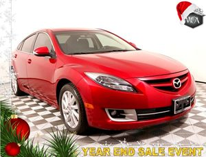 2012 Mazda Mazda6 s Touring Plus Carfax 1-Owner - No AccidentsDamage Reported  Fireglow Red
