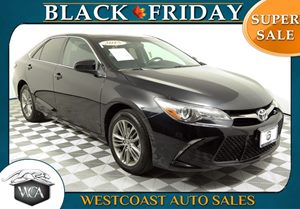 2015 Toyota Camry SE Carfax 1-Owner - No AccidentsDamage Reported 25 Mpg City  35 Mpg Highway