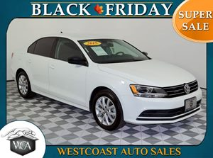 2015 Volkswagen Jetta Sedan 18T SE Carfax 1-Owner - No AccidentsDamage Reported 25 Mpg City  3