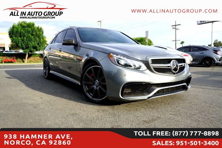 2015 Mercedes-Benz E 63 AMG S-Model Sedan 4MATIC
