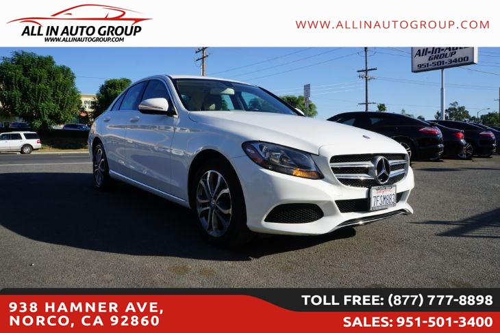 2015 Mercedes-Benz C 300 4MATIC Luxury Sedan