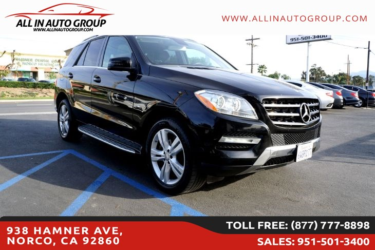 2012 Mercedes-Benz ML 350 SUV