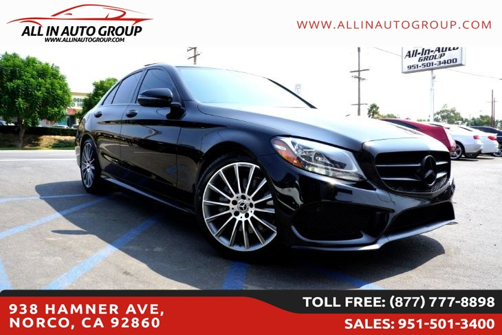 2017 Mercedes-Benz C 300 Sedan with Sport Pkg