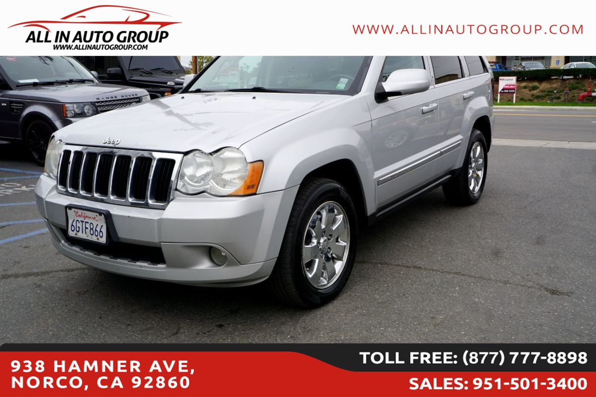 2008 Jeep Grand Cherokee Limited 4X4