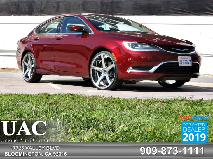 2015 Chrysler 200 Limited Red >> 2015 Chrysler 200 Limited Unique Auto Center