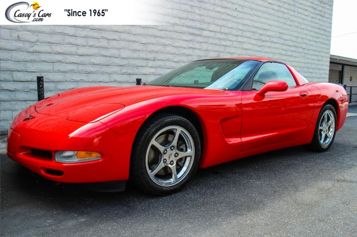 2002 Chevrolet Corvette Coupe 6 Speed
