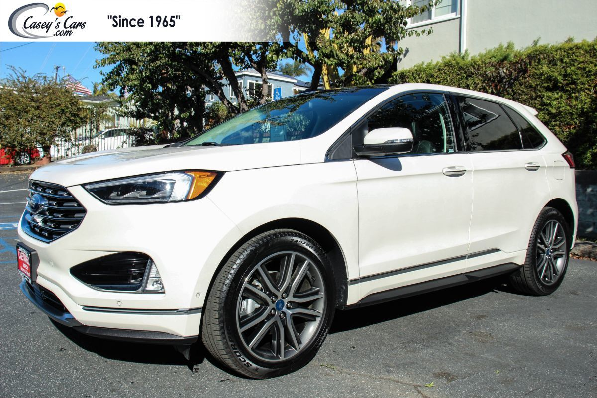 2019 Ford Edge Titanium W/Adaptive Cruise