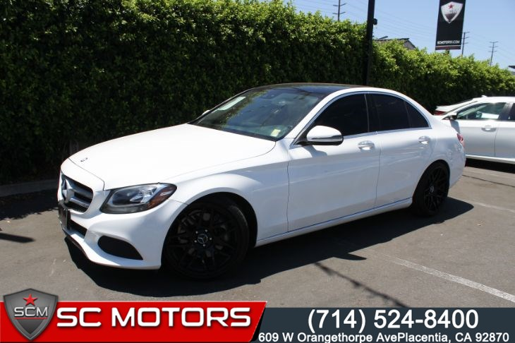 2016 Mercedes-Benz C 300 Luxury W/ Pano