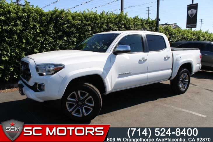 2016 Toyota Tacoma Limited (BACK UP CAMERA & NAVIGATION)