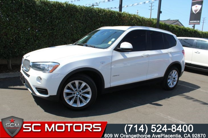 2017 BMW X3 sDrive28i DRIVING ASSISTANCE PACKAGE