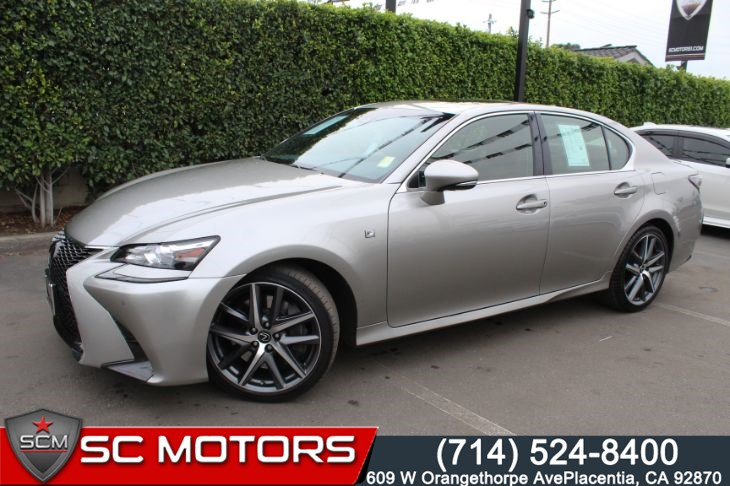 2017 Lexus GS350 F-SPORT (NAVIGATION & BACK UP CAMERA)