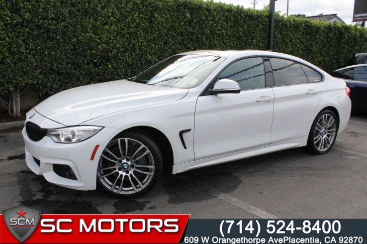 Sold 2016 Bmw 428i Gran Coupe M Sport Package Lighting Package In Placentia