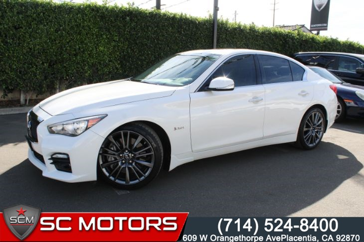 2016 INFINITI Q50 3.0t Red Sport 400(BACK UP CAMERA & LEATHER SEATS)