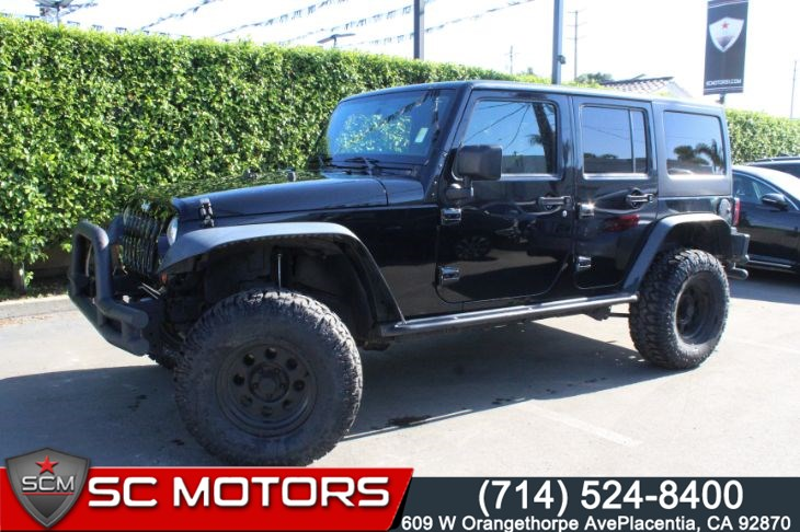 2013 Jeep Wrangler Unlimited Sport 4wd(LIFTED SUSPENSION&REMOVABLE TOP)