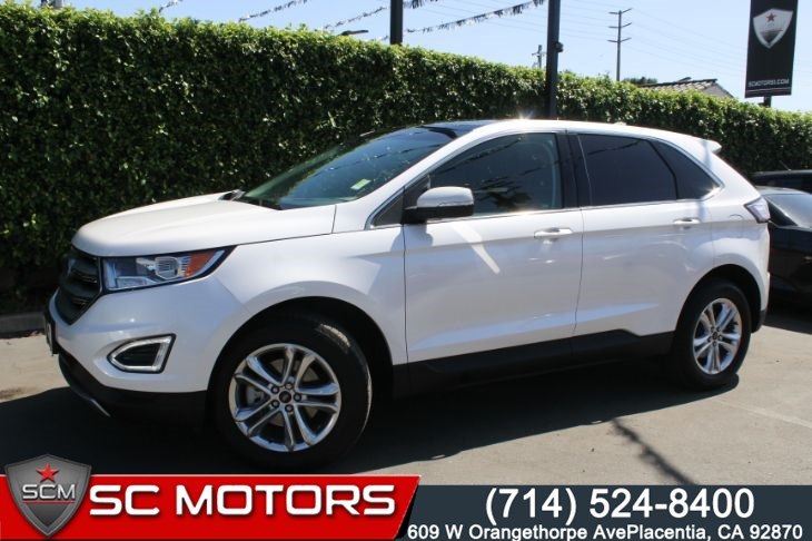 2018 Ford Edge SEL(CONVENIENCE PACKAGE & PANORAMIC VISTA ROOF)