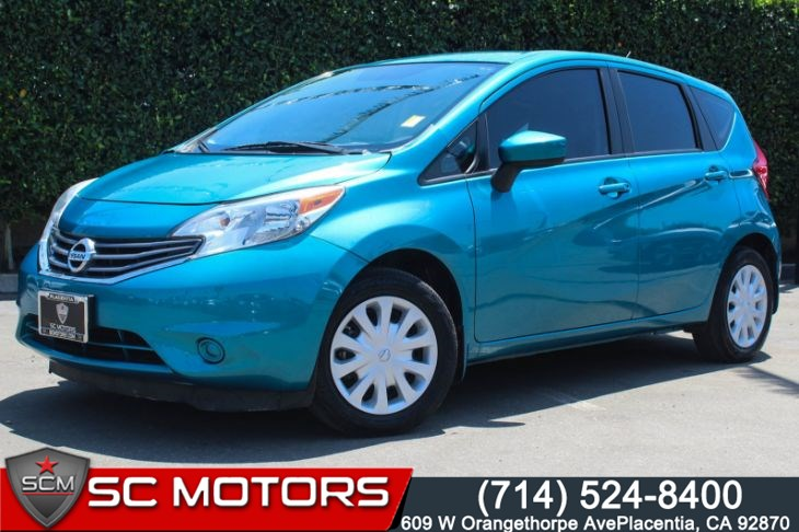2015 Nissan Versa Note S Plus (Bluetooth, 1 Owner)