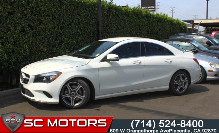 2018 Mercedes-Benz CLA 250 Coupe (Apple Car Play, Back Up Cam, Leather)