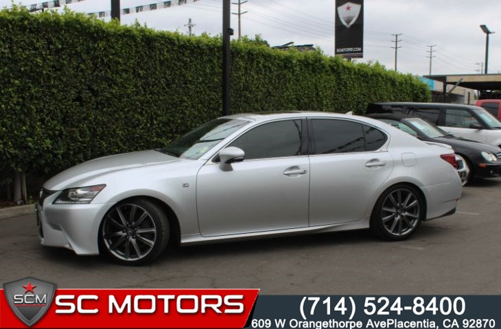 2014 Lexus GS 350 F Sport (Navigation & Sunroof)