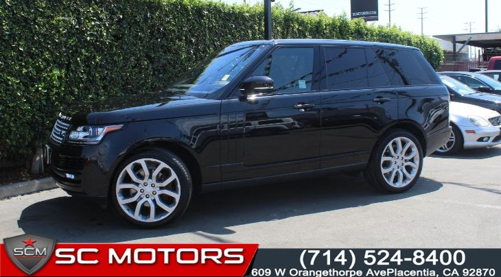 2016 Land Rover Range Rover HSE Td6 (Navigation & Panoramic Sunroof)