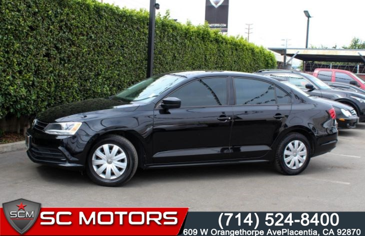 2015 Volkswagen Jetta Sedan 2.0 S (Bluetooth & Cruise Control)