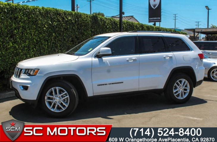 "2018 Jeep Grand Cherokee Laredo E(GPS Navigation & 18"" Aluminum Wheels)"