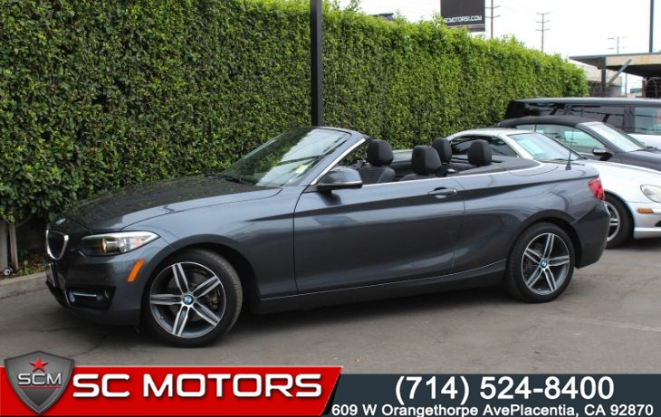 2017 BMW 2 Series 230i (Convertible, Premium Package & Navigation)
