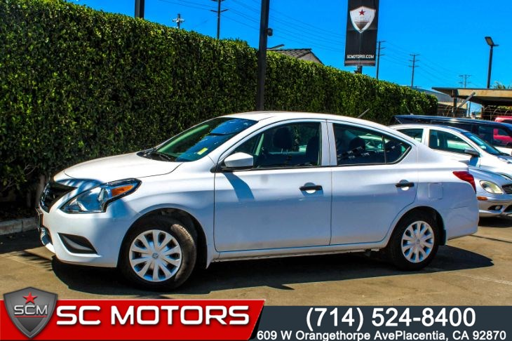 "2019 Nissan Versa Sedan S Plus(Back-Up Cam & 7"" Color Touchscreen Display)"