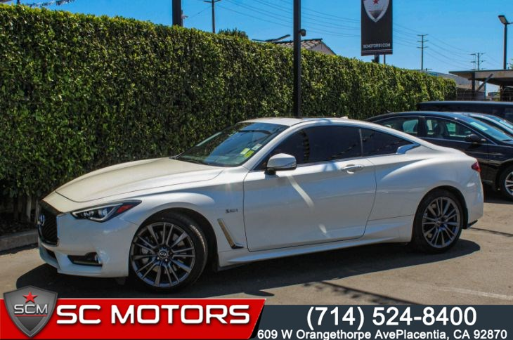 2017 INFINITI Q60 Sport AWD 3.0T(RED LEATHER SEATS & SUNROOF)