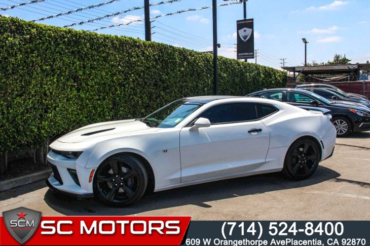 "2016 Chevrolet Camaro 2SS(Navigation & 20"" Gloss Black Aluminum Wheels)"